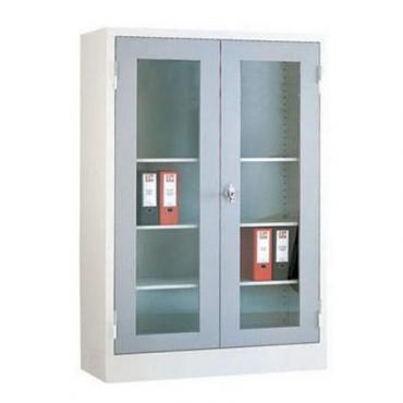Cam Kapakli Medikal Dolabi Modeli Yilmaz Ofis Mobilyalari