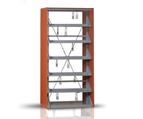 Cift Askili Kutuphane Dolabi Sistemi Modeli Yilmaz Ofis