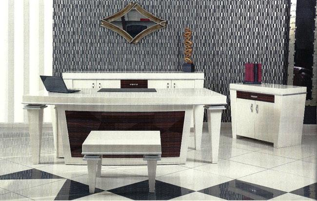 zebrano masa,makam masası,yönetici masası,lake masa takımı,lake makam takımı,vip makam takımı,patron masası,ofis mobilyaları